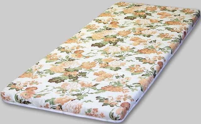 Топпер в цветочек - тонкий матрас для дивана