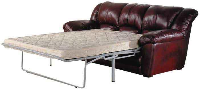 Матрас на коричневый кожаный диван