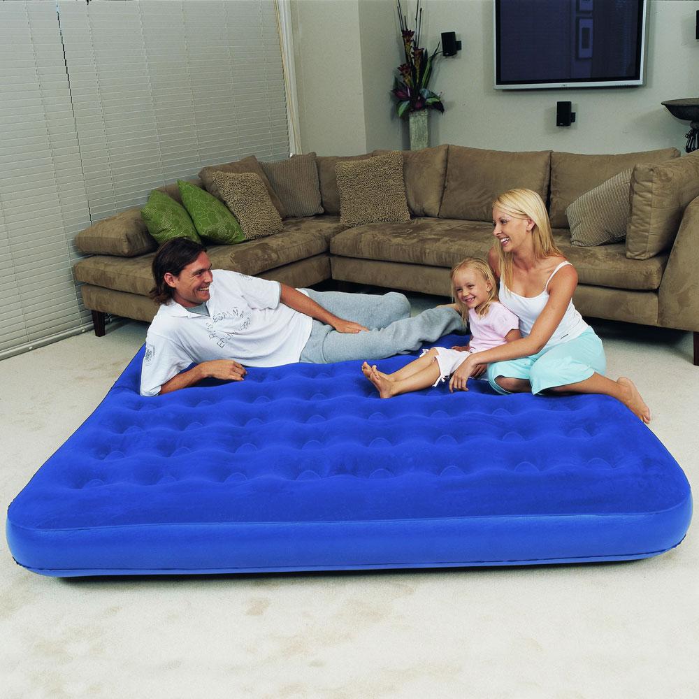 Надувной матрас, как спальное место