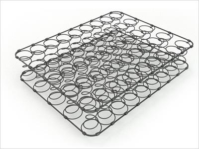 Зависимый пружинный блок боннель