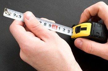 Рулетка для измерения высоты матраса