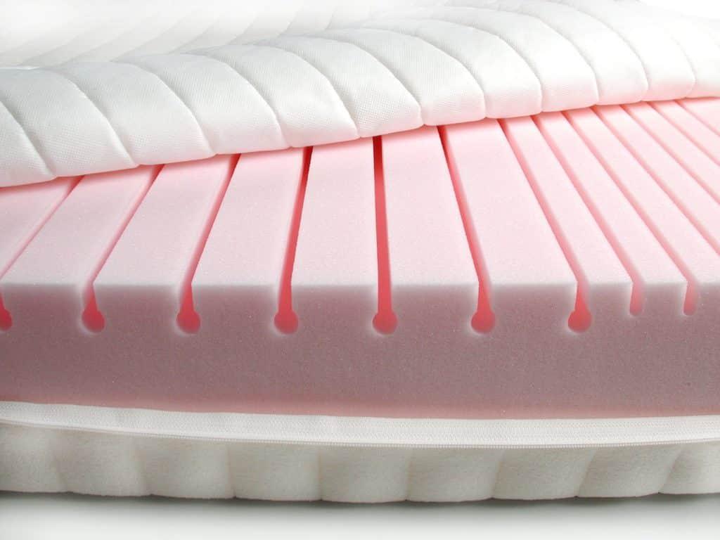 Пенополиуретан розового цвета