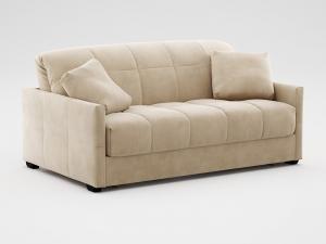 Бежевый диван от фирмы Аскона