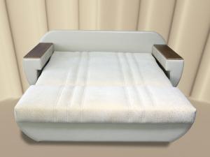 Диван-аккордеон белого цвета
