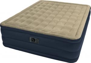 Надувная синяя кровать