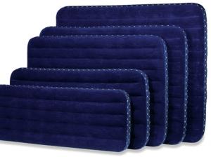 Надувные синие матрасы разного размера